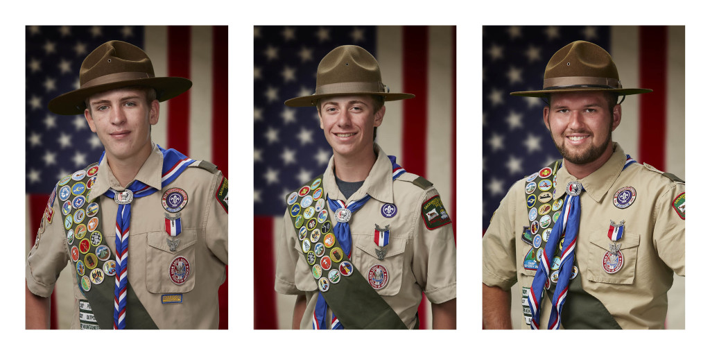 3 Eagle Scout Court of Honor